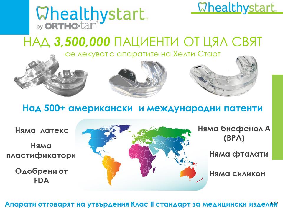Видео-Версия на актуалния курс за цялостно ортодонтско лечение с бутиковата система Healthy Start